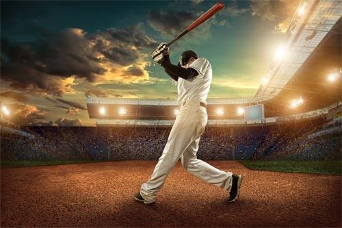 野球中継画面